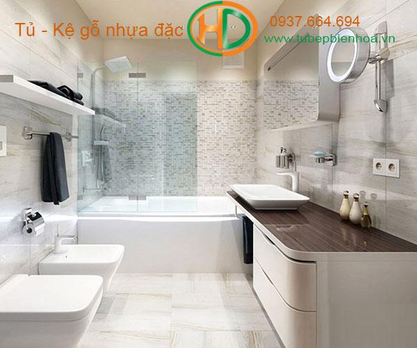 tủ phòng tắm nhựa cao cấp pvc 1