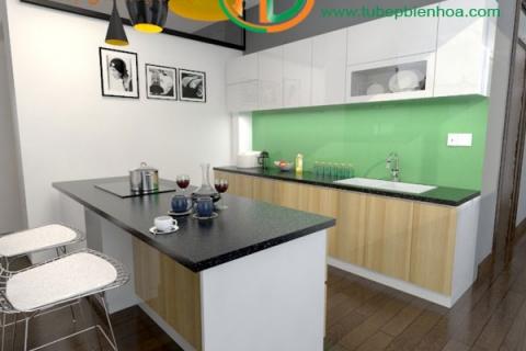 Tủ bếp nhựa Acrylic Biên Hòa