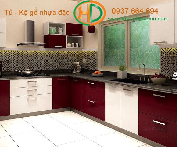 tủ bếp nhựa acrylic biên hòa 1