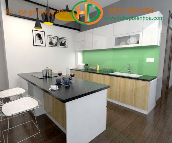 tủ bếp nhựa acrylic biên hòa 9