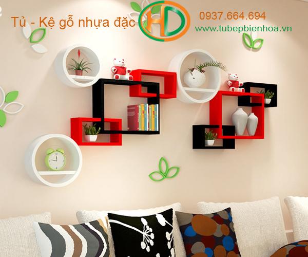 kệ nhựa trang trí treo tường