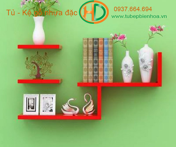 kệ trang trí treo tường acrylic 3