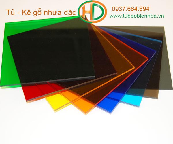 nhựa tạo màu acrylic