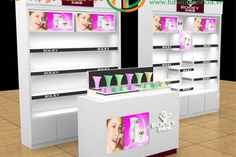 Kệ nhựa trưng bày sản phẩm khu vực Biên Hòa Đồng Nai