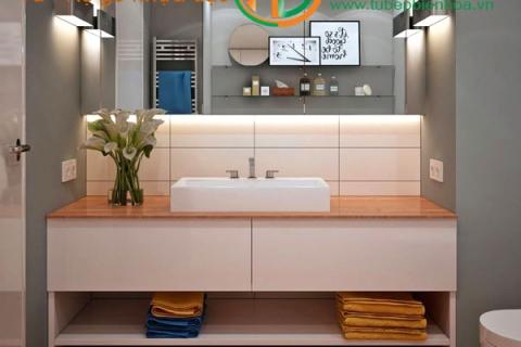 Tủ lavabo phòng tắm giá rẻ Bền - Đẹp- Hiện Đại và ...