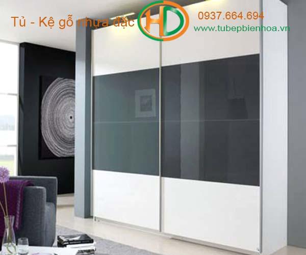 tủ quần áo nhựa acrylic hiện đại 2