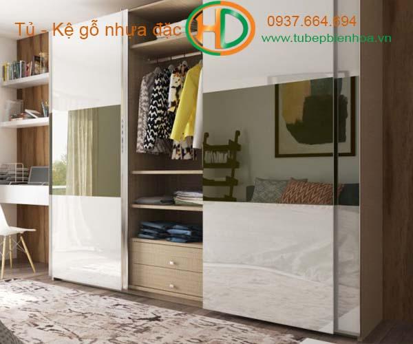 tủ quần áo nhựa acrylic hiện đại 5