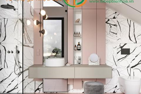 Tủ Lavabo nhựa Biên Hòa - Tủ phòng tắm nhựa PVC cao cấp