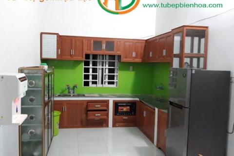 Tủ Bếp Nhôm Giá Rẻ Tại Biên Hòa