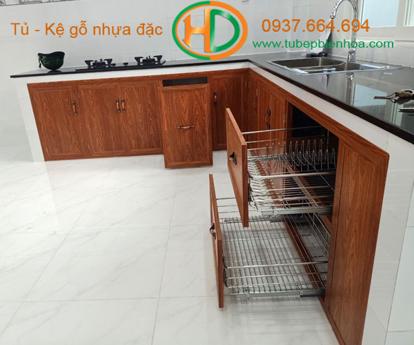 tủ bếp nhôm giá rẻ 1