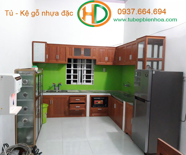tủ bếp nhôm giá rẻ 10