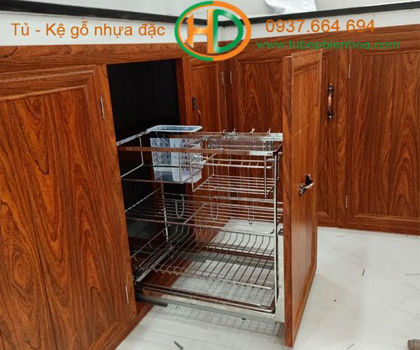 tủ bếp nhôm giá re 5