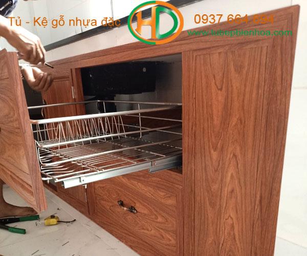 tủ bếp nhôm giá rẻ 7