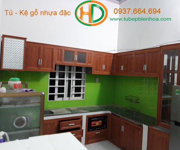 tủ bếp nhôm giá rẻ 9