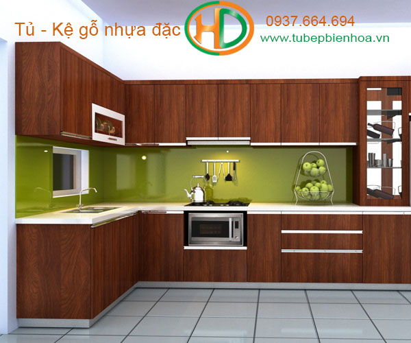 tủ bếp nhựa picomat 7