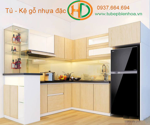 tủ bếp nhựa picomat 8