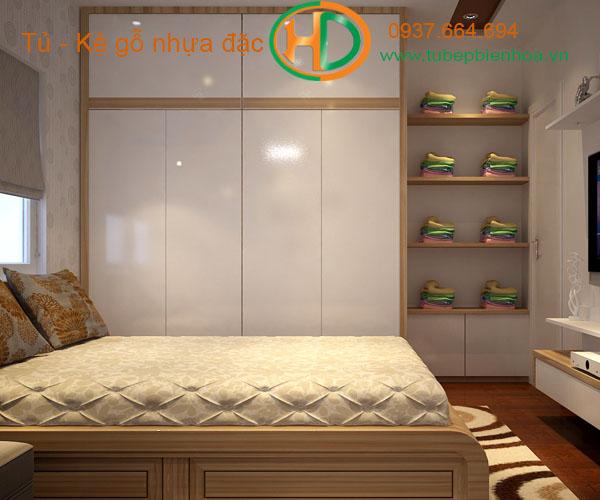 tủ quần áo laminate hiện đại 10