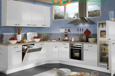 Thi công thiết kế và lắp đặt tủ bếp nhựa Picomat ...