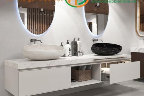 Tủ Lavabo nhựa - Tủ phòng tắm nhựa chống thấm nước ...