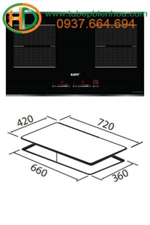 Bếp 02 từ EGO nhập khẩu Đức KF-IH201II
