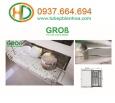 Kệ xoong nồi bát đĩa đa năng inox nan dẹt Grob GC-70